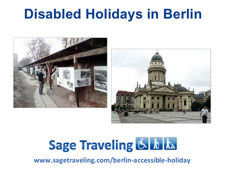 Disabled Holidays in Berlin