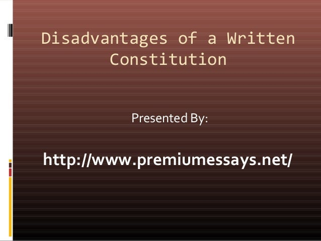 was the constitution written to be The constitution of india is the longest written constitution of any sovereign country in the world, containing 444 articles in 22 parts, 12.