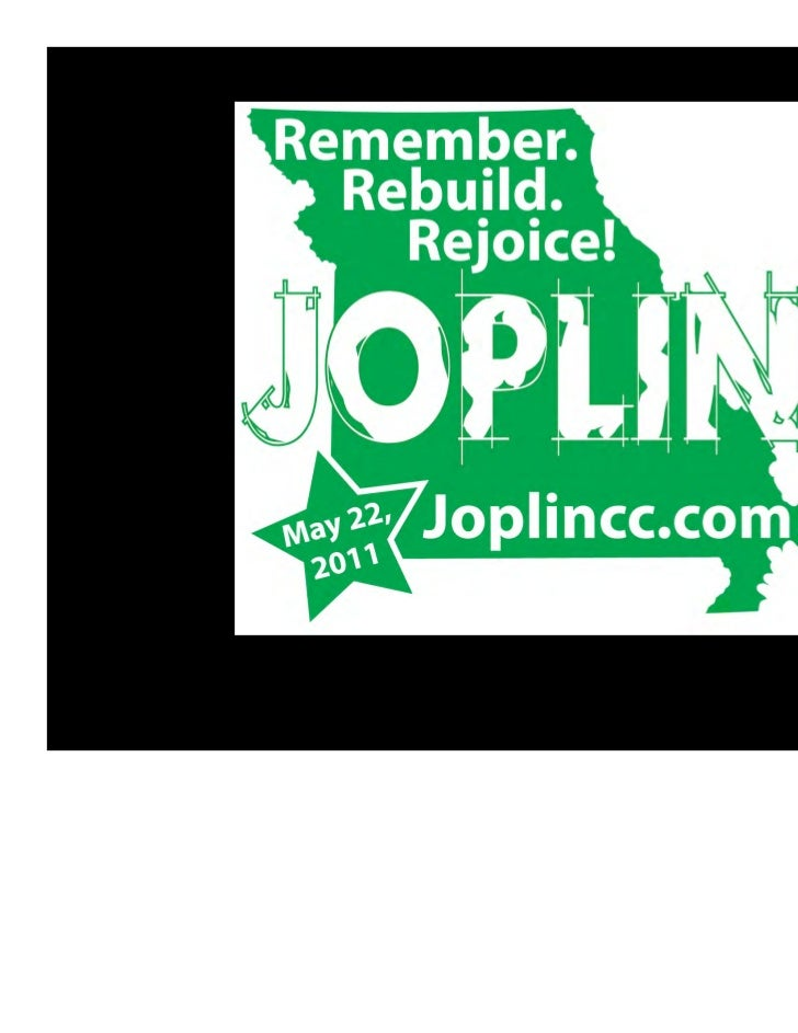 Joplin Chamber of Commerce - Disaster Communication