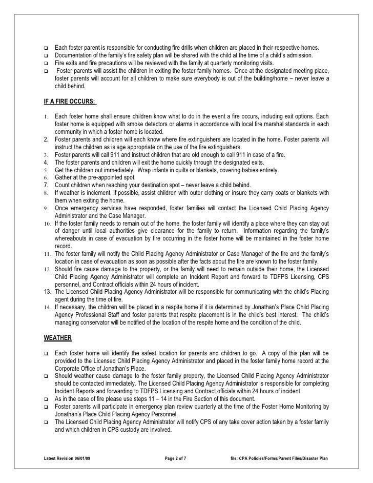 Disaster Emergency Plan Policy: http://www.slideshare.net/jpkids/disaster-emergency-plan-policy