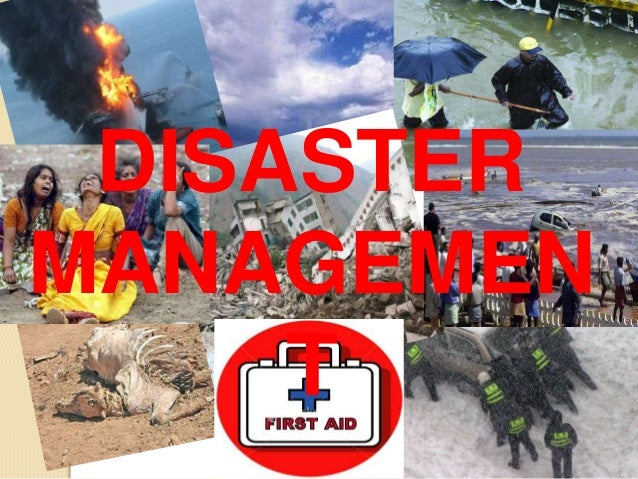 DISASTERMANAGEMENT