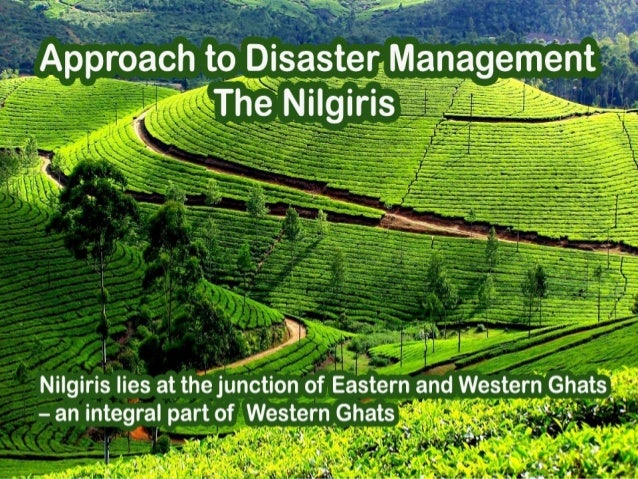 Nilgiris lies at the junction of Eastern and Western Ghats – an integral part of Western Ghats