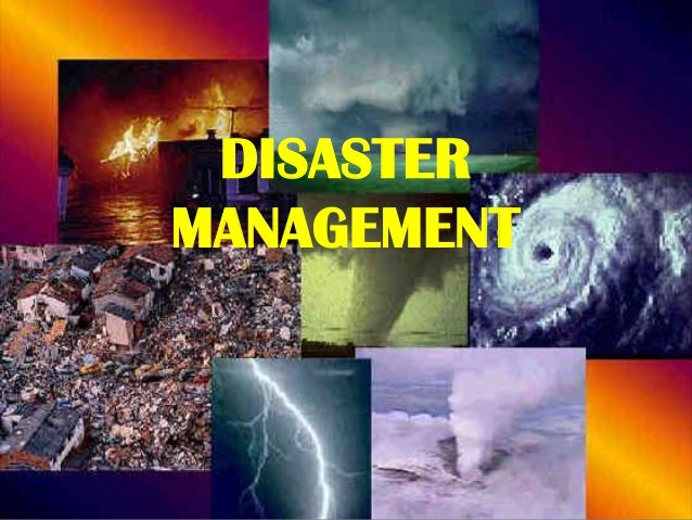 Disaster management by Ma Celna Icban