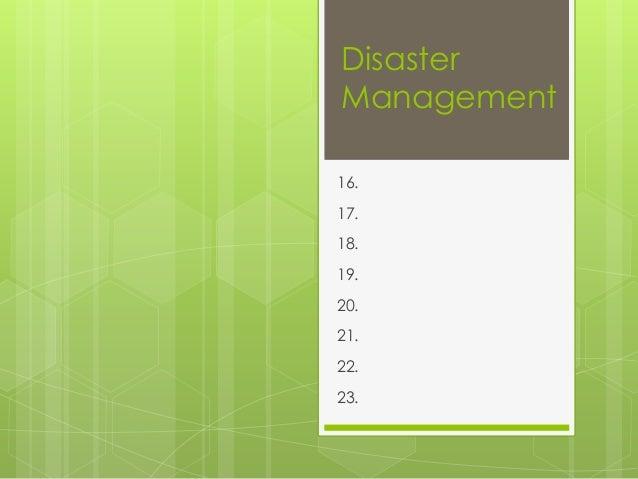 DisasterManagement16.17.18.19.20.21.22.23.