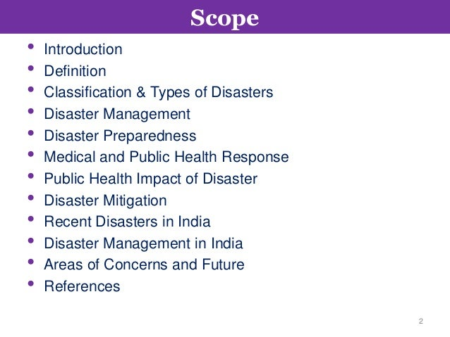essay on disaster management and preparedness