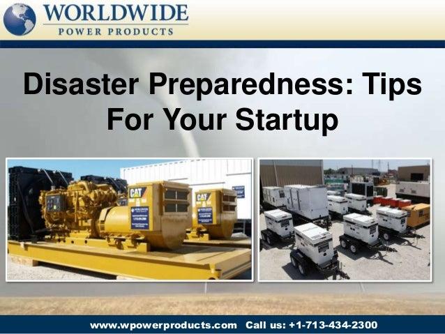 Disaster Preparedness: Tips For Your Startup