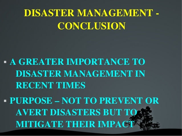 essay on disaster management and preparedness People face diverse challenges during disaster events such as the past hurricane katrina sample essay on emergency management & disaster preparedness.