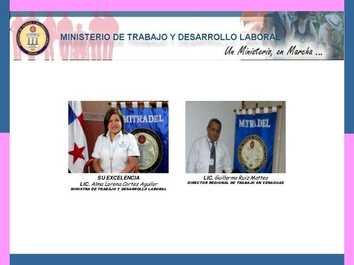 SU EXCELENCIA                          LIC. Guillermo Ruiz Matteo   LIC. Alma Lorena Cortes Aguilar         DIRECTOR REGIO...
