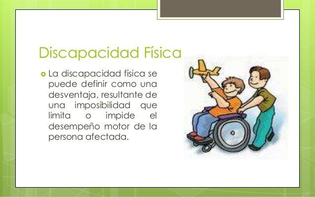Discapacidad Motriz Y F Sica