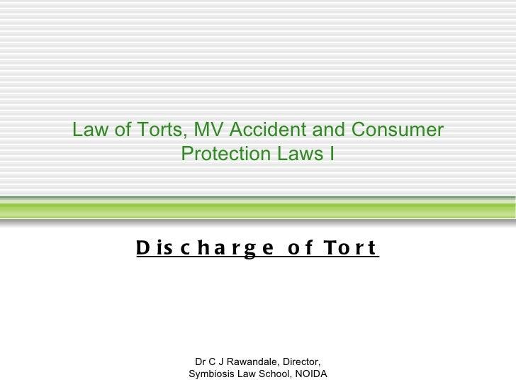 Discharge Of Tort