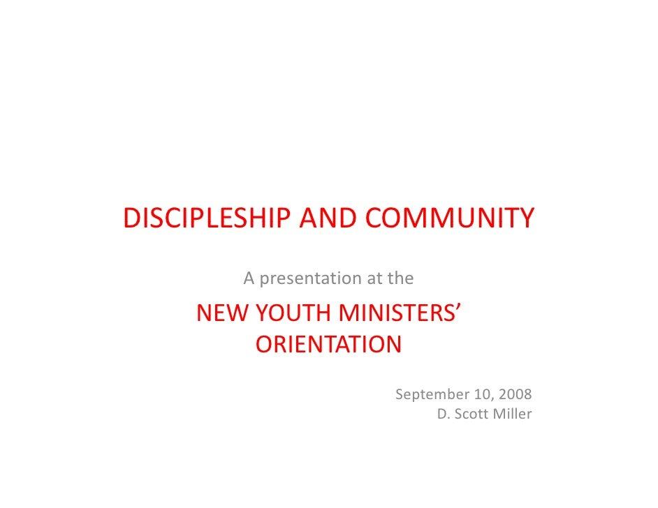 Discipleship Community