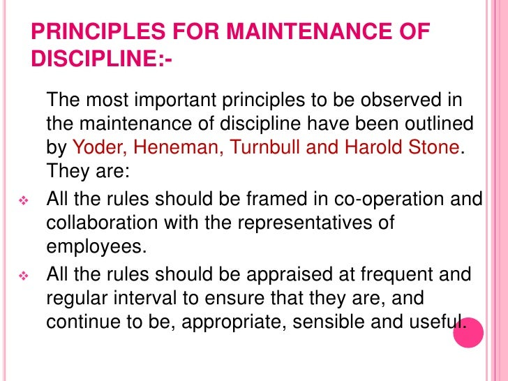 essay on why discipline is important Organizational behaviour is important to all management function  why should every manager study the discipline of writework has over 100,000 sample papers.