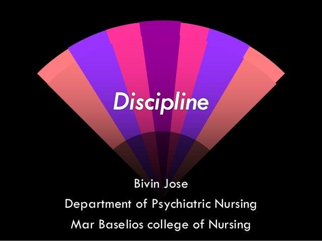 Bivin Jose Department of Psychiatric Nursing Mar Baselios college of Nursing