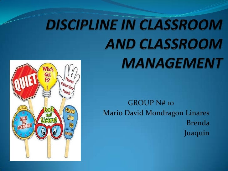 Essay on classroom management and discipline