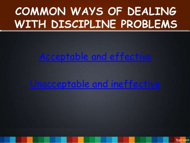 the discipline ideas for the classroom the