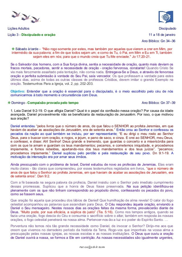Discipulado e oração_Respostas_312014