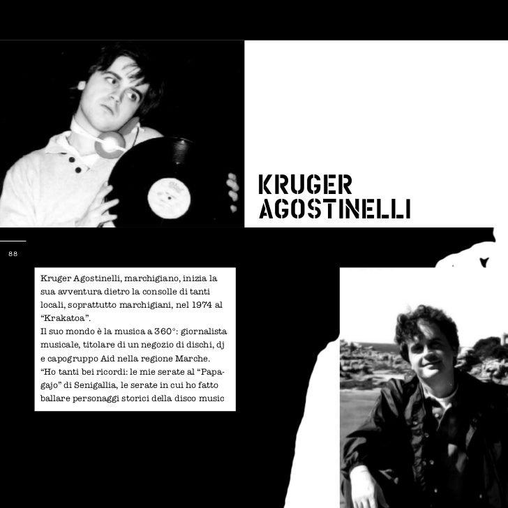 Kruger                                                      Agostinelli88     Kruger Agostinelli, marchigiano, inizia la  ...