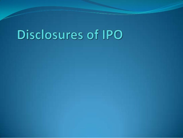 "Initial Public Offer (IPO)""offering"" or ""flotation"" shares to the public for the first timeReason To Go For IPO to tap th..."