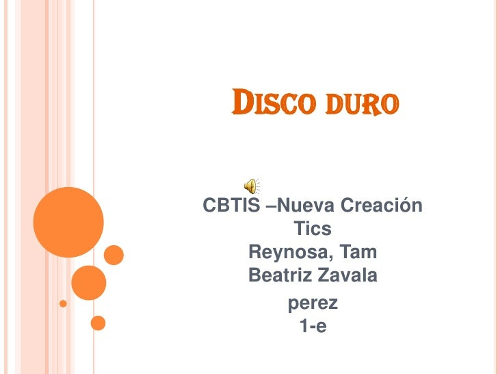 Disco duro beatriz