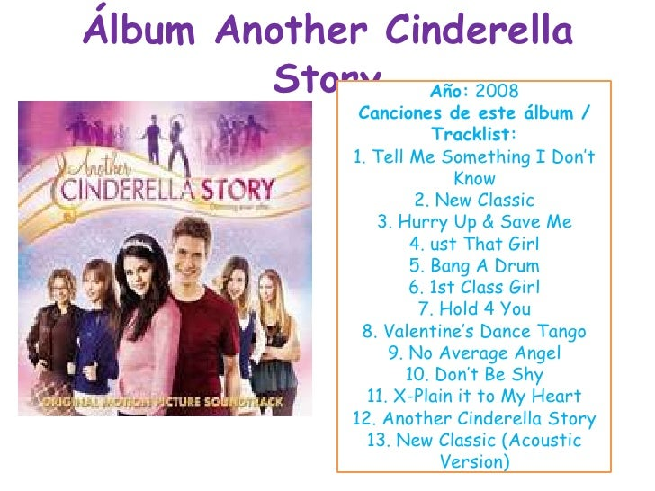 álbum Another Cinderella Story