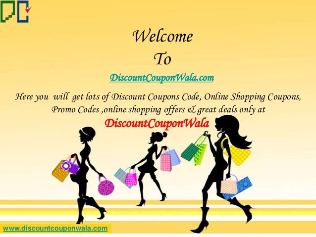 Latest Discount Coupons Codes & Best Deals only at DiscountCouponWala
