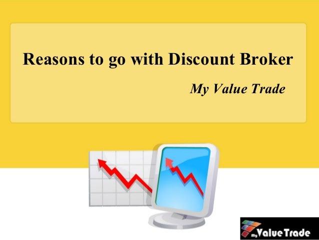 Discount broker sites