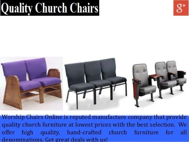 Discount Church Furniture Store WorshipChairs line