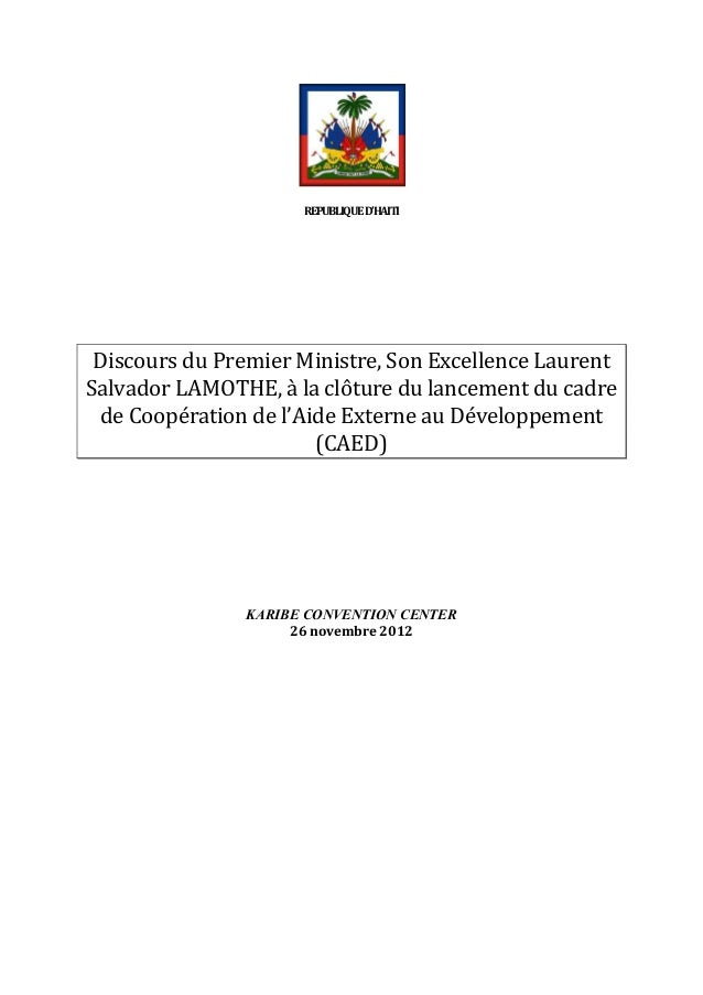 REPUBLIQUE  D'HAITI                                                      Disc...