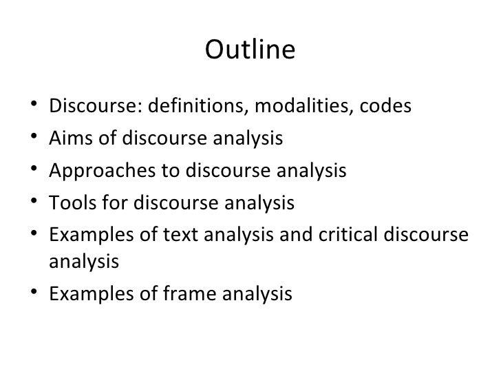 critical discourse analysis of politica Setting up a discourse analysis i'm designing a critical discourse analysis of mental i would include here the political implications of the discourse.