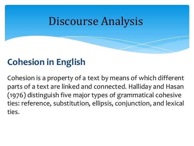 an overview of discourse makers in english A written discourse project the second study was 'a contrastive analysis of letters to the editor in chinese and english':- (1) summary of the study wang's contrastive study of the letters to the editor in english and chinese is an example of a written discourse project that drew on the frameworks of contrastive rhetoric and systemic.