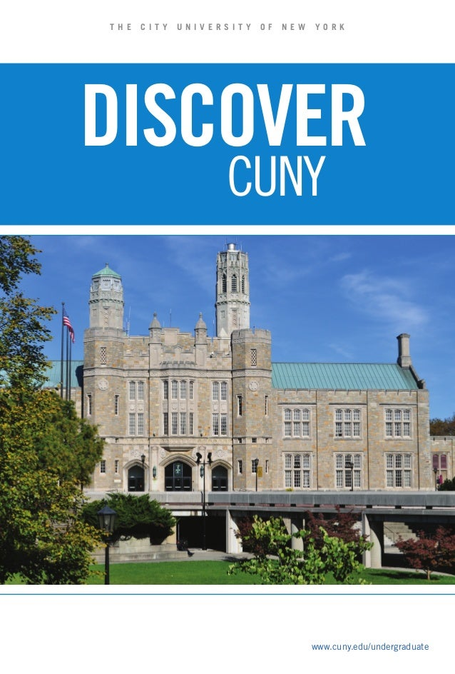 Discover cuny-2012