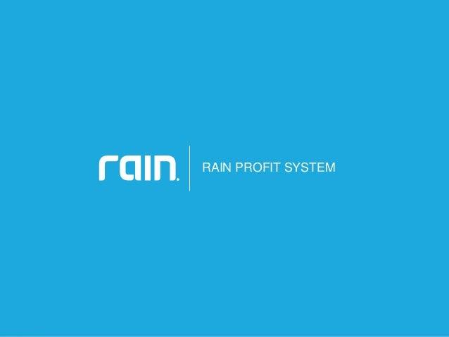 Rain International Marketing Plan