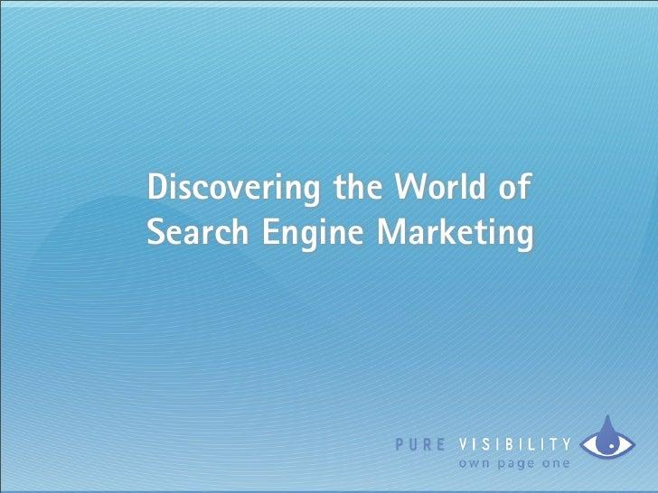 Discover SEM