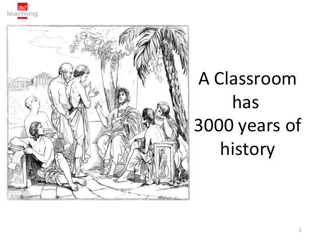 A Classroom    has3000 years of   history            1