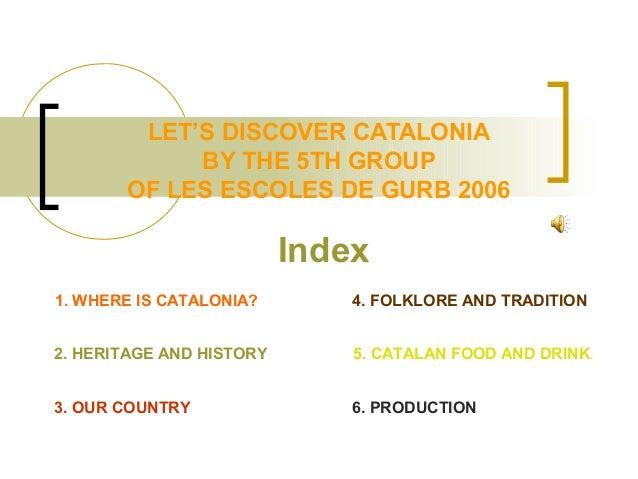 Discover catalonia