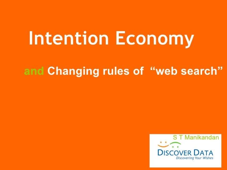 Intention Economy