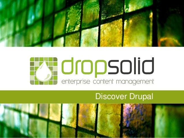 Discover Drupal