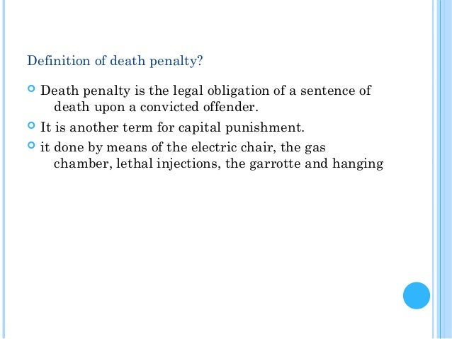 persuasive essays on death penalty