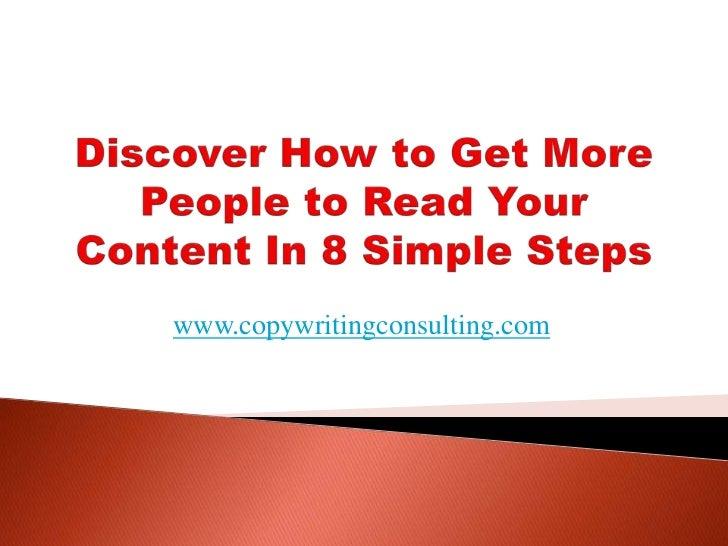 www.copywritingconsulting.com