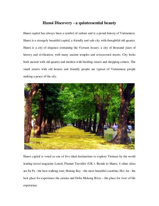 Hanoi Discovery - a quintessential beauty