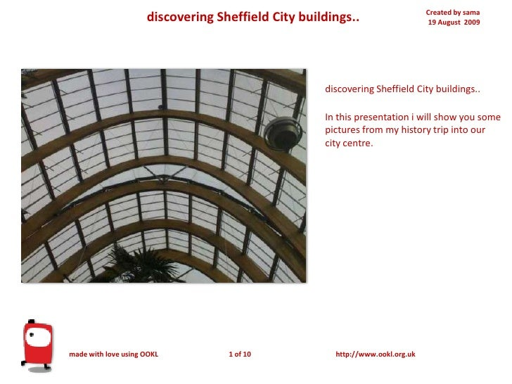 Created by sama19 August  2009<br />discovering Sheffield City buildings..<br />discovering Sheffield City buildings..In t...
