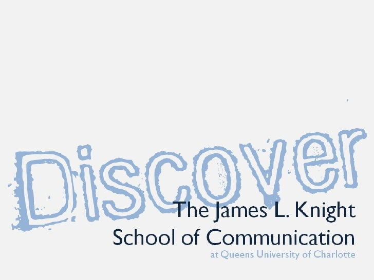 Discover the James L. Knight School of Communication