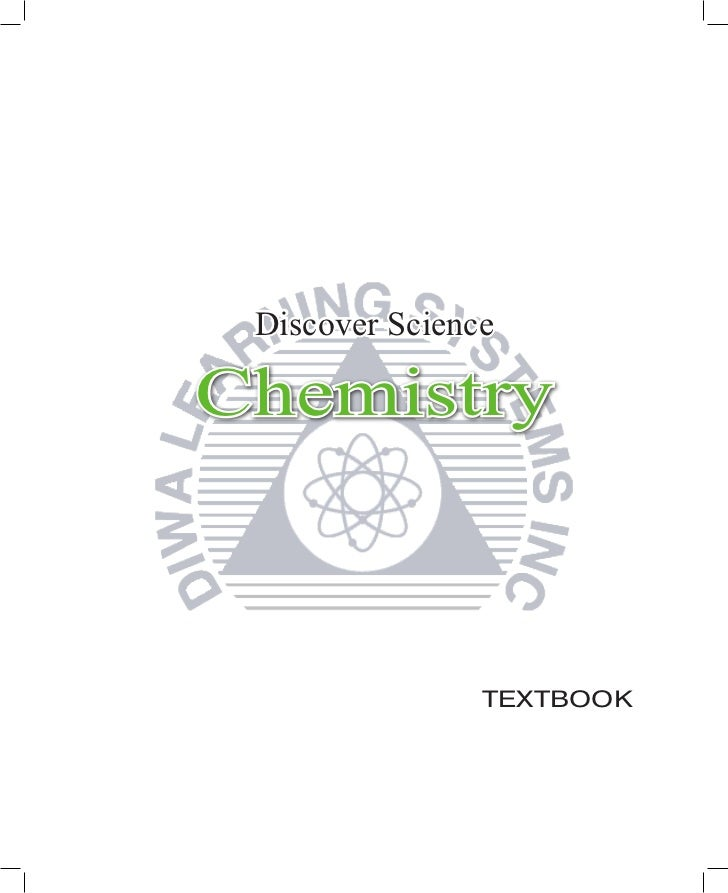 Discover ScienceChemistry                TEXTBOOK
