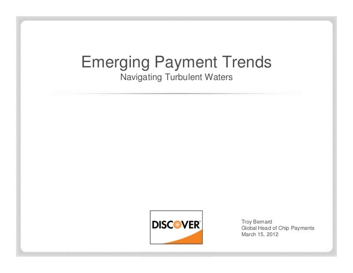 Emerging Payments: Understanding and Leveraging the Opportunities (Credit Union Conference Session Presentation Slides)