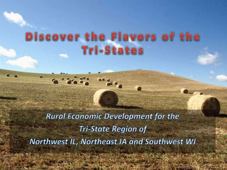 • Located in Driftless Area of  the Midwest• Major crops include; corn,  soybeans, alfalfa, cattle and  hogs• Part of the ...