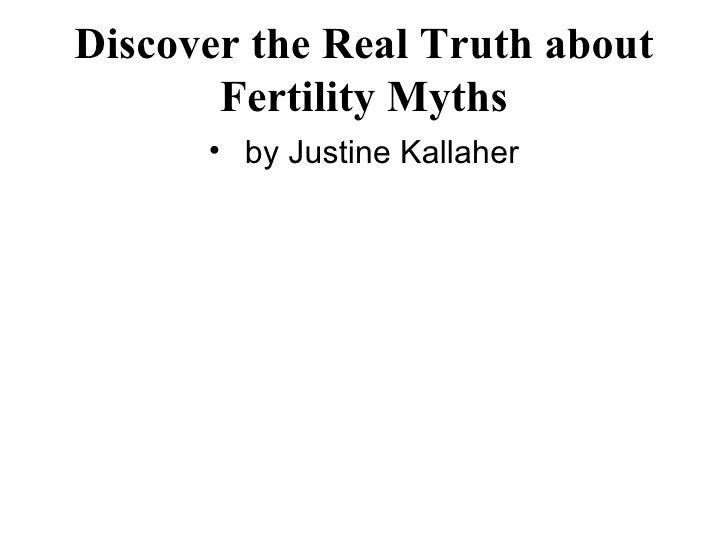 Debunk Those Fertility Myths