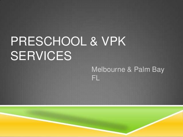 Preschool & VPK Services | Melbourne & Palm Bay FL | Discovery Centers