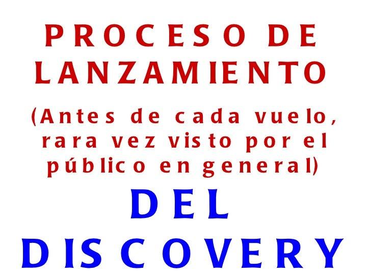 Discoverylanzamiento