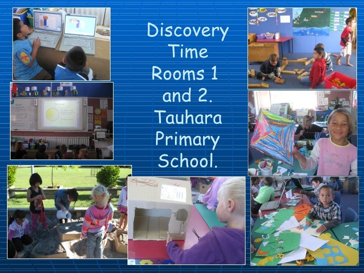 Discovery Time Rooms 1  and 2. Tauhara Primary School.