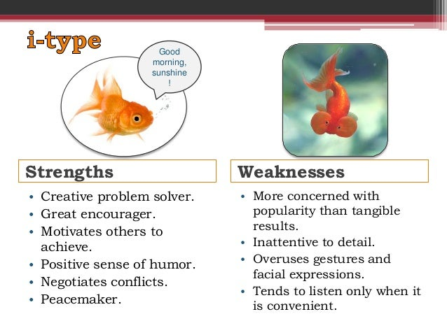 personality strengths and weaknesses pdf